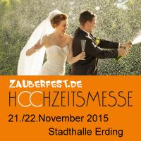 Hochzeitsmesse Erding 2015